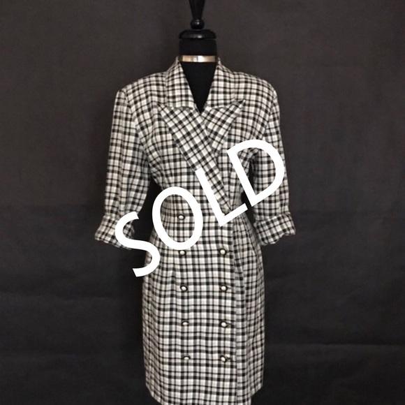 La Belle Dresses & Skirts - LaBelle Brand Checkered Dress